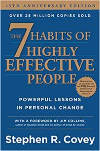 The 7 Habits of Highly Effective People Powerful Lessons in Personal Change Author Stephen R. Covey