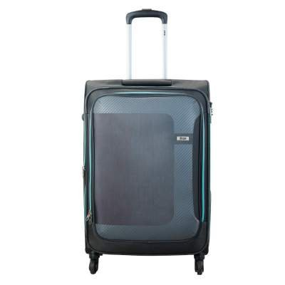 VIP Polyester Grey Softsided Cabin Luggage (STCANW60GMG)